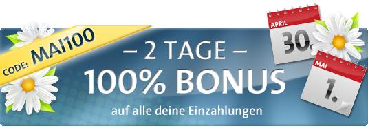 Sunmaker 100€ Bonus