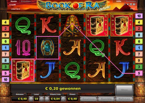 Novoline Book of Ra deluxe online spielen