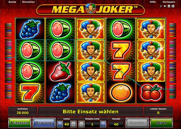 Novoline Mega Joker Spielautomat