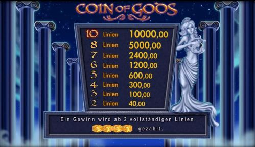 Merkur-Coin-of-Gods-kostenlos