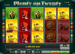 Novoline Plenty on Twenty Gewinn