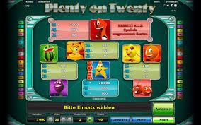 Novoline Plenty onTwenty