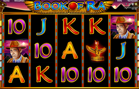 Novoline Book of Ra Spielautomat