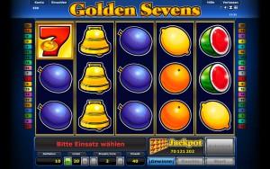Novoline Golden Sevens Gewinn