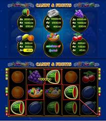Merkur Candy & Fruits Gewinnübersicht