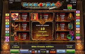 Novoline Book of Ra 6 Gewinnübersicht