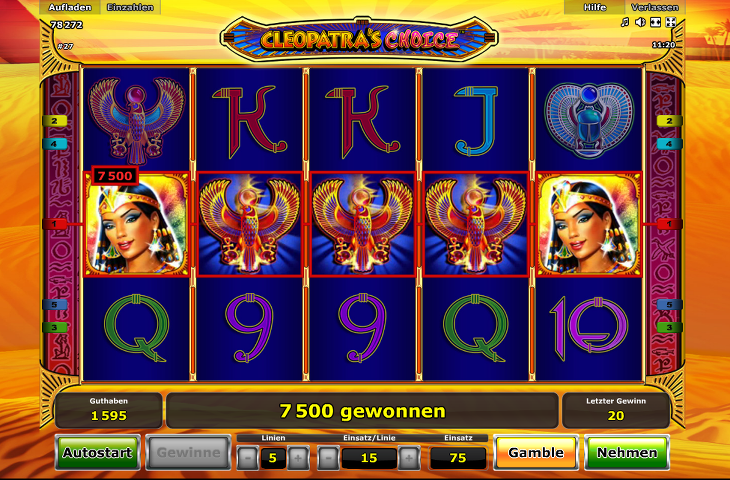 cleopatras choice