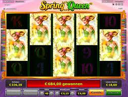Novoline Spring Queen Gewinn