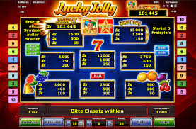 Novoline Lucky Jolly Gewinnübersicht