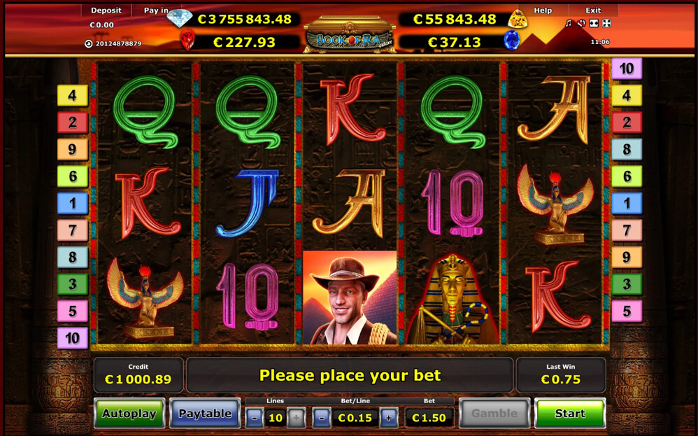video slot free online book of ra gewinnchancen